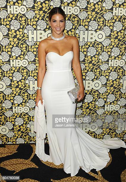 Liz Hernandez attends HBO's post 2016 Golden Globe Awards party at Circa 55 Restaurant on January 10 2016 in Los Angeles California