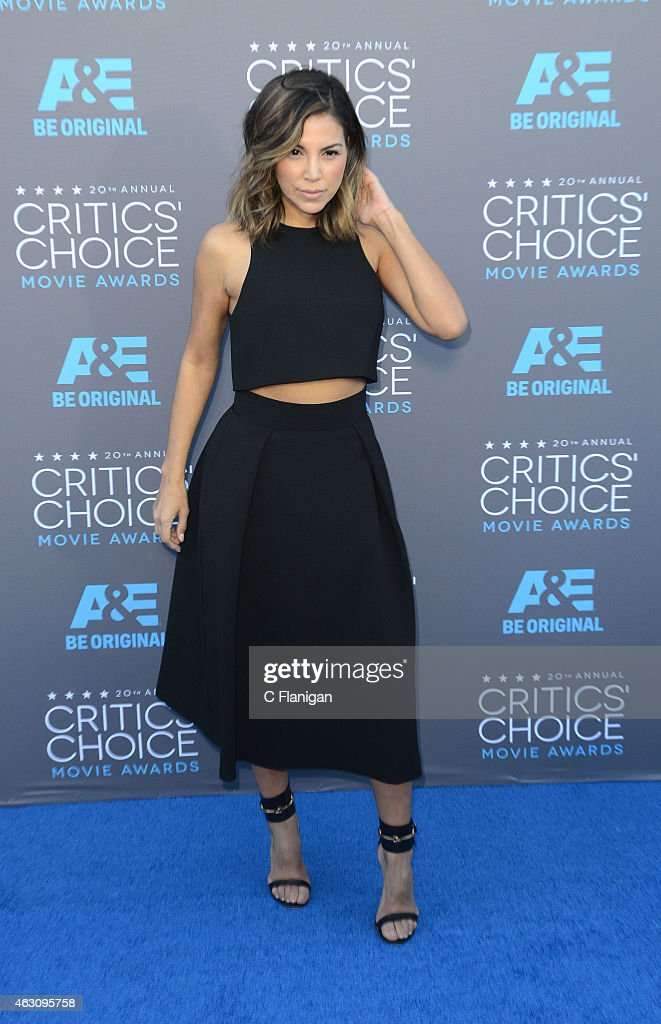 Liz Hernandez attends The 20th Annual Critics' Choice Movie Awards at Hollywood Palladium on January 15, 2015 in Los Angeles, California.