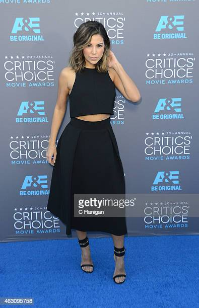 Liz Hernandez attends The 20th Annual Critics' Choice Movie Awards at Hollywood Palladium on January 15 2015 in Los Angeles California