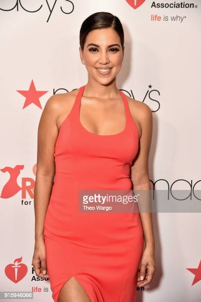 Liz Hernandez attends the American Heart Association's Go Red For Women Red Dress Collection 2018 presented by Macy's at Hammerstein Ballroom on...