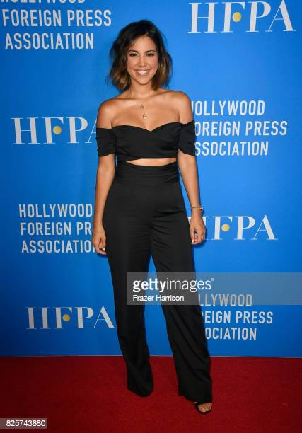 Liz Hernandez attends the Hollywood Foreign Press Association's Grants Banquet at the Beverly Wilshire Four Seasons Hotel on August 2 2017 in Beverly...