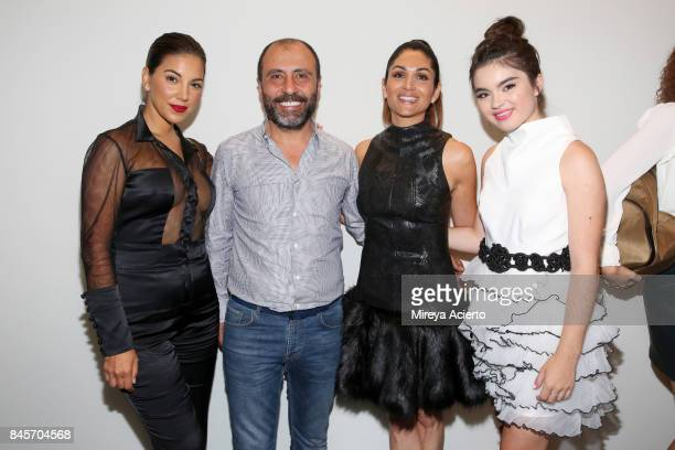 Liz Hernandez John Paul Ataker Lela Loren and Landry Bender attend the John Paul Ataker fashion show during New York Fashion Week The Shows at...