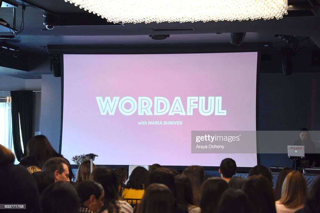 Liz Hernandez: Wordaful Live X Maria Shriver