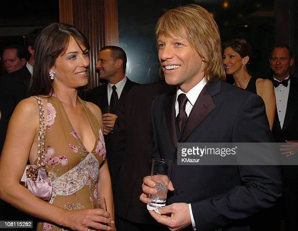 Liz Hurley and Jon Bon Jovi
