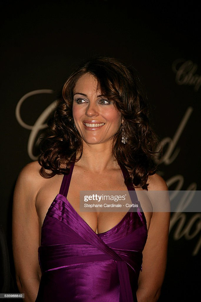 Liz Hurley at the 'Chopard Party' during the 59th Cannes Film Festival.