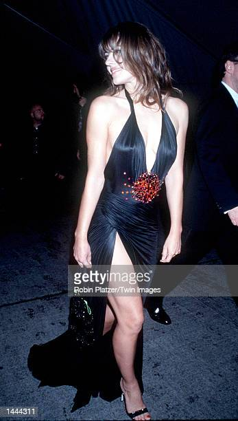 Liz Hurley at the Metropolitan Museum of Art for the Costume Institute Gala New York NY December 6 1999