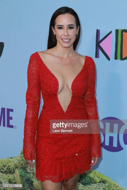 Liz Kennedy attends the premiere of Showtime's Kidding at The Cinerama Dome on September 5 2018 in Los Angeles California