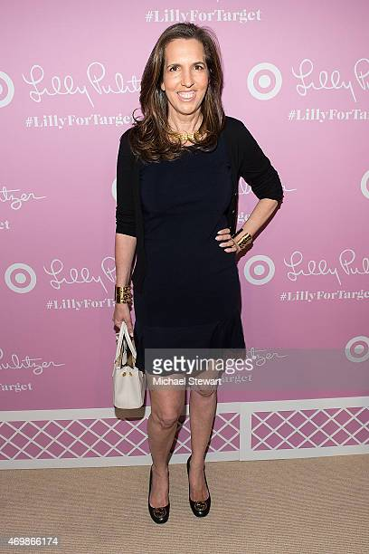 Liz Lange attends the Lilly Pulitzer for Target Launch at Bryant Park Grill on April 15 2015 in New York City