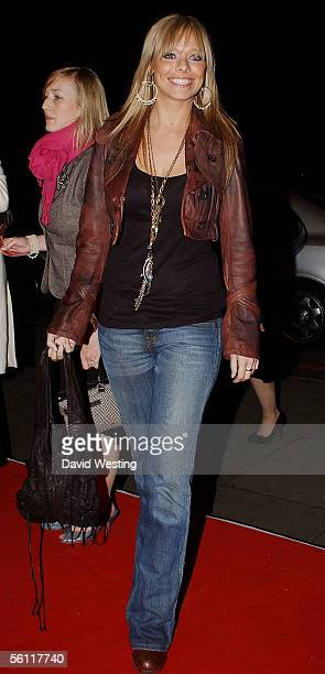 Liz McClarnon arrives at the aftershow party following the UK premiere of In Her Shoes at the Grosvenor House Hotel November 7 2005 in London England