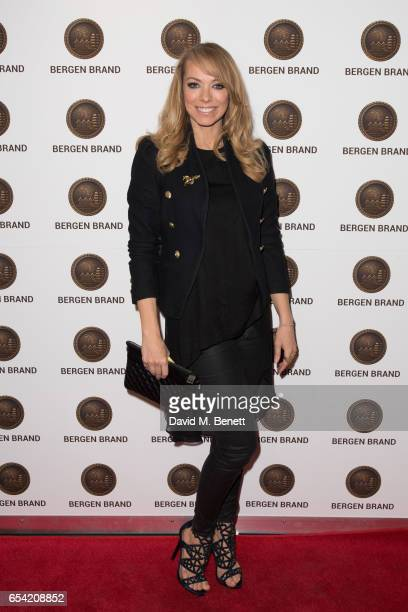 Liz McClarnon attends Bergen Brand Handbag Launch At Wolf Badger on March 16 2016 in London England