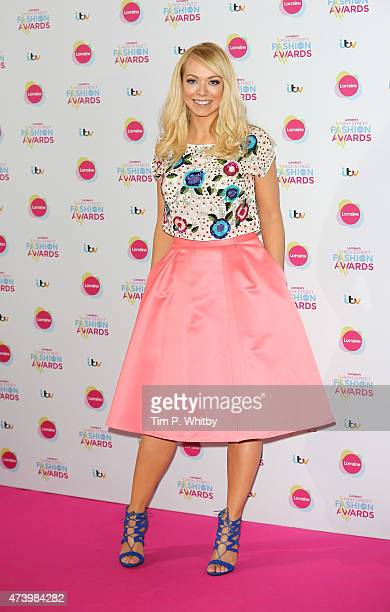 Liz McClarnon attends Lorraine's High Street Fashion Awards at Grand Connaught Rooms on May 19 2015 in London England