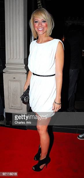 Liz McClarnon attends Reveal Magazine 5th Birthday Party at Movida on October 20 2009 in London England