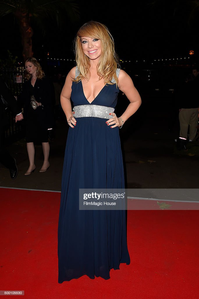 Liz McClarnon attends the Emeralds & Ivy Ball in aid of Cancer Research UK and the Marie Keating Foundation at Embankment Gardens on December 5, 2015 in London, England.