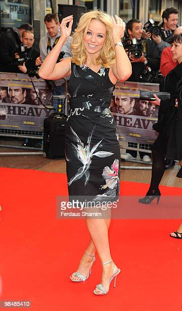 Liz McClarnon attends the premiere of 'The Heavy' at the Odeon West End on April 15 2010 in London England