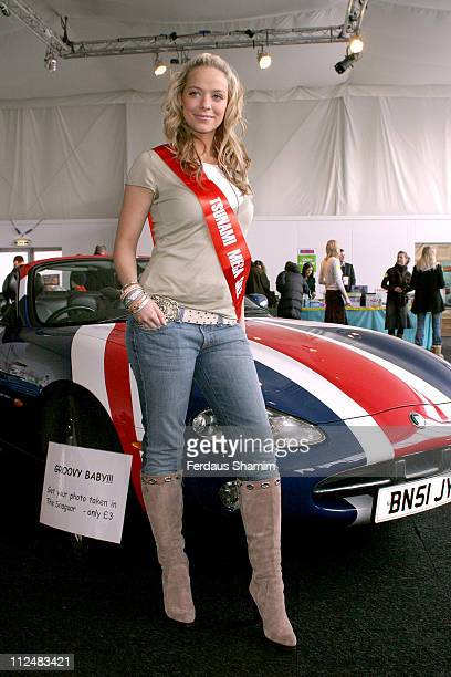 Liz McClarnon during Absolutely Famous Photocall at The Marquee in London Great Britain