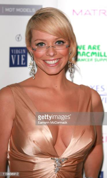 Liz McClarnon during Specsavers Spectacle Wearer Of The Year 2006 Grand Final at Waldorf Hilton Hotel in London United Kingdom