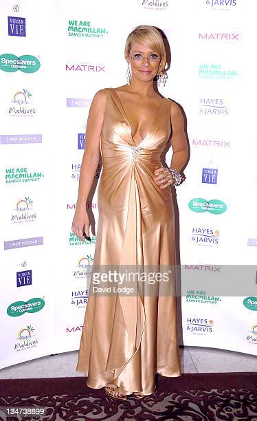 Liz McClarnon during Specsavers Spectacle Wearer of the Year 2006 Grand Final at The Waldorf Hilton Hotel in London Great Britain