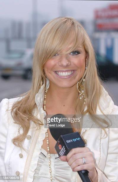 Liz McClarnon during Stars Arrive in Birmingham for 2006 Celebrity Soccer Six at St Andrews Stadium Birmingham City Football Club in Birmingham Great...