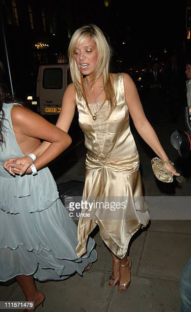 Liz McClarnon during The Berkeley Square Ball After Party at Sketch Conduit Street London in London Great Britain