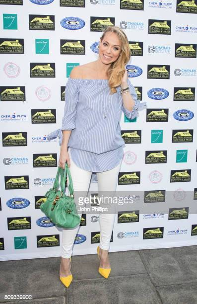 Liz McClaron attends the Paul Strank Charitable Trust Summer Party at Mint Leaf on July 5 2017 in London England