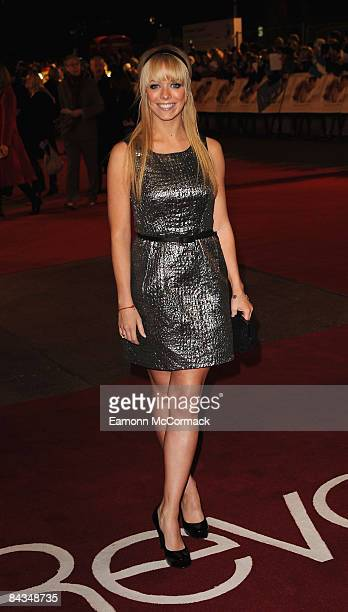 Liz McLarnon attends the UK premiere of 'Revolutionary Road' at Odeon Leicester Square on January 18, 2009 in London, England.