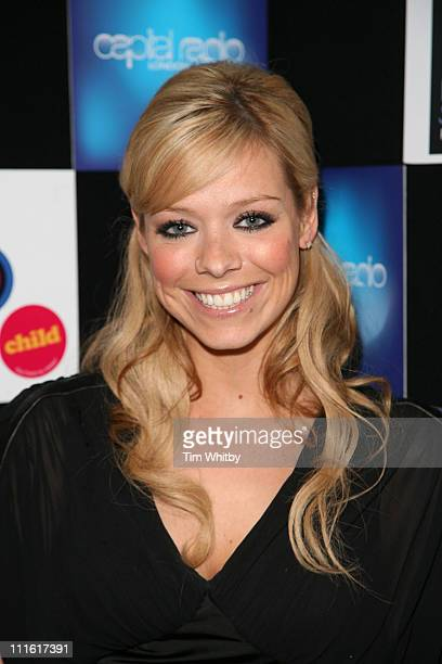 Liz McLarnon during Capital Radio Help A London Child Charity Night at Dover Street in London Great Britain