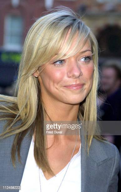 Liz McLarnon from Atomic Kitten during 'Pirates of the Caribbean The Curse of the Black Pearl' European Premiere at Odeon Leicester Square in London...