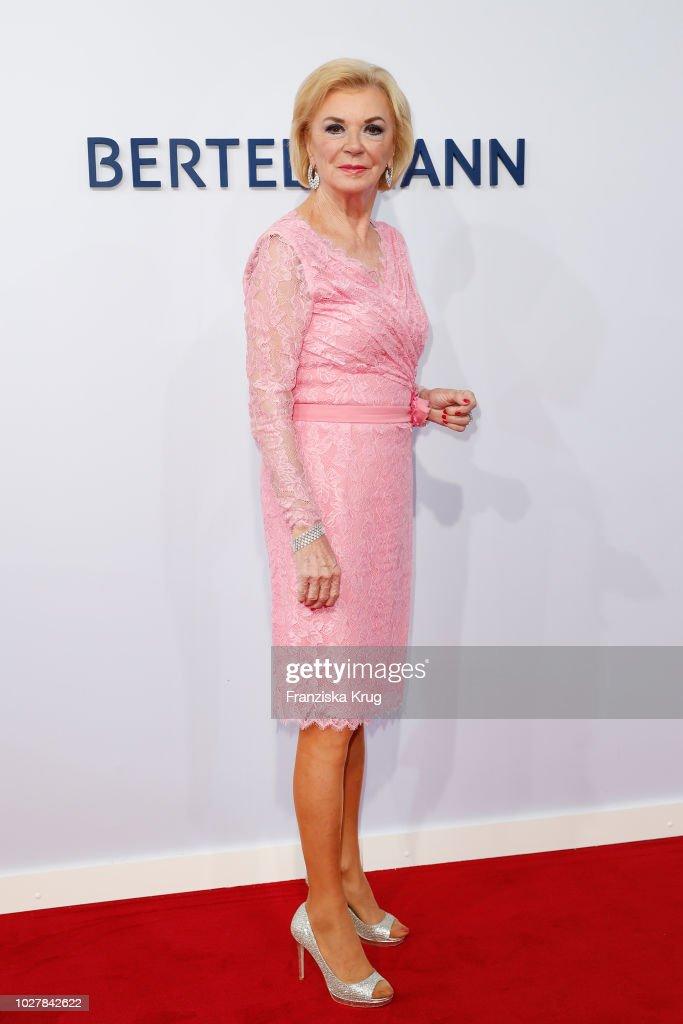 Liz Mohn attends the Bertelsmann Summer Party at Bertelsmann Repraesentanz on September 6, 2018 in Berlin, Germany.