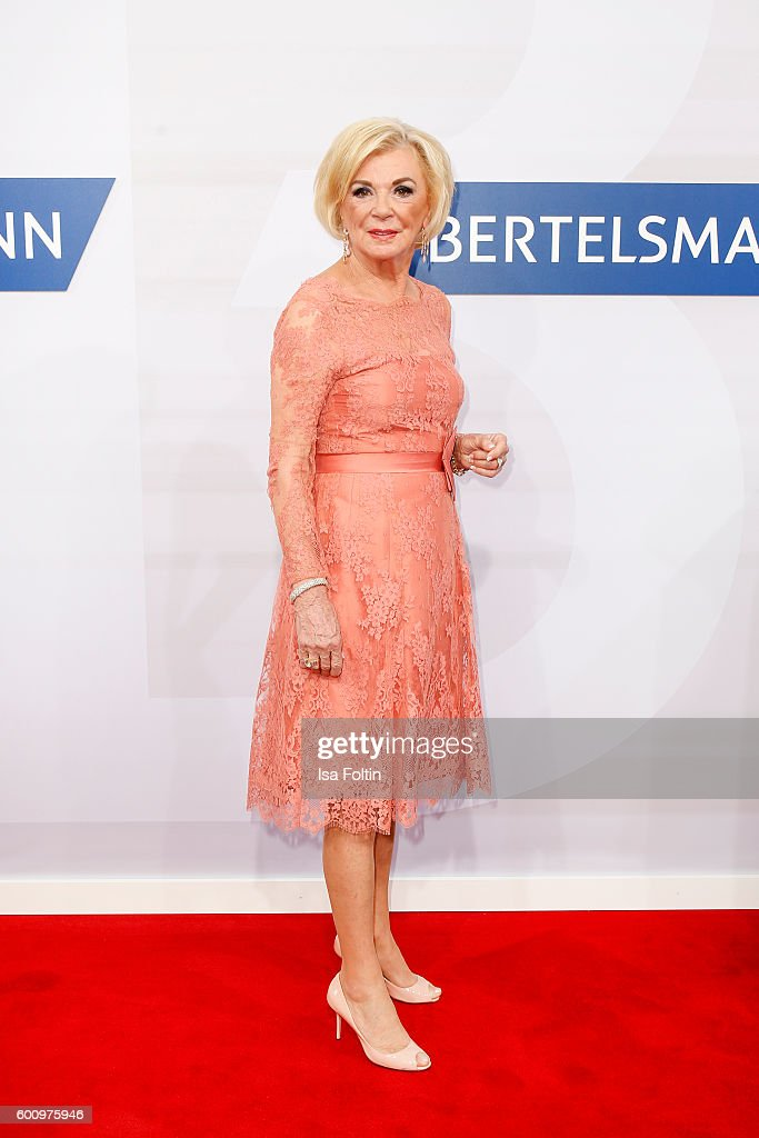 Liz Mohn (Bertelsmann SE & Co. KGaA ) attends the Bertelsmann Summer Party at Bertelsmann Repraesentanz on September 8, 2016 in Berlin, Germany.