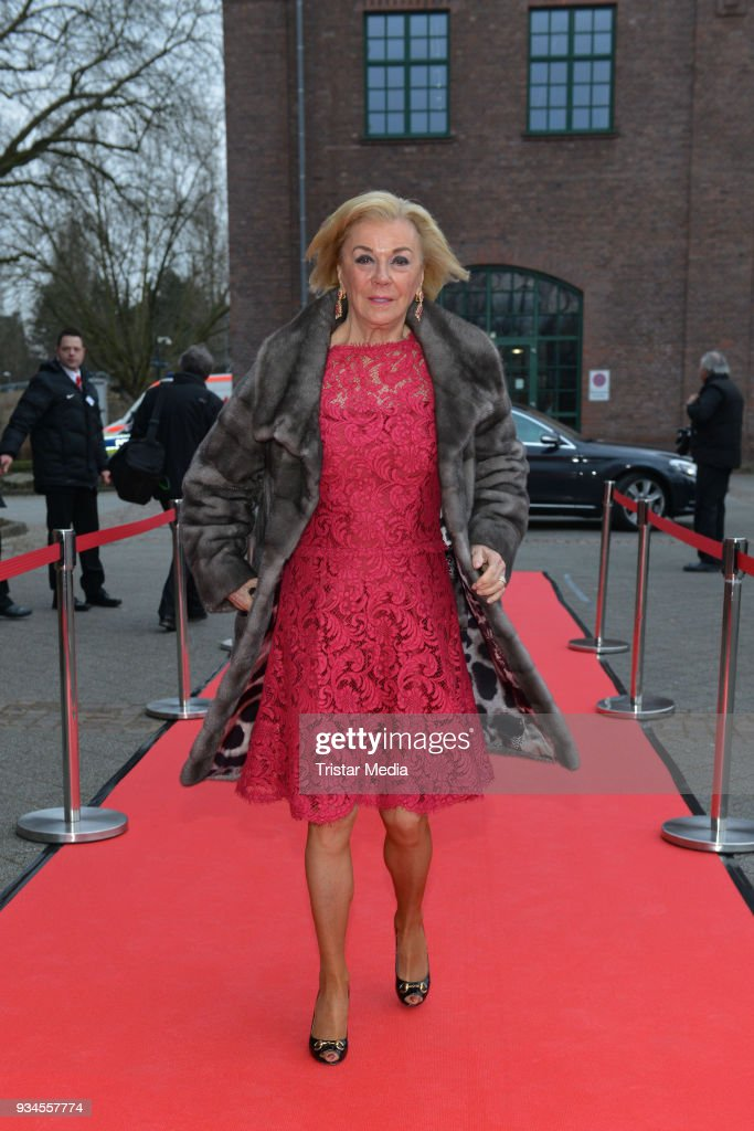 Liz Mohn attends the Steiger Award at Zeche Hansemann on March 17, 2018 in Dortmund, Germany.