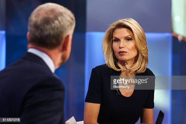 Liz Myers global head of equities for JP Morgan Securities LLC speaks during a Bloomberg Television interview in New York US on Tuesday March 2016...
