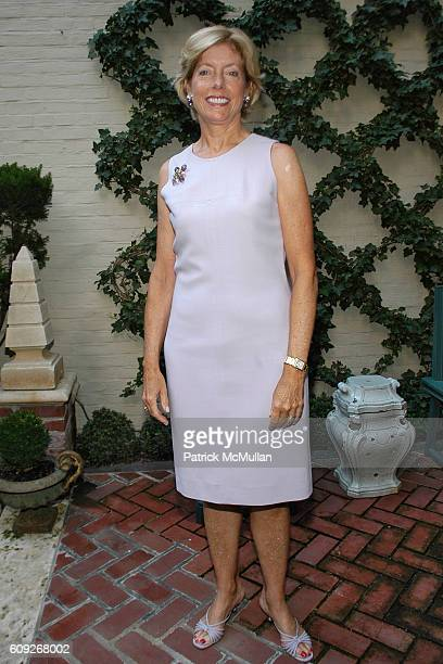 Liz Peek attends FIT COUTURE COUNCIL Cocktail Party at Charlotte Moss Residence on July 25 2007 in New York City