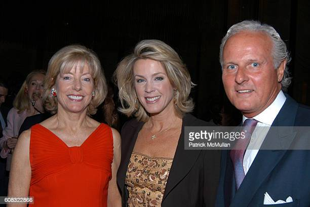 Liz Peek Deborah Norville and Karl Wellner attend The Irvington Institute For Immunological Research's 25th Annual Through The Kitchen Dinner at The...