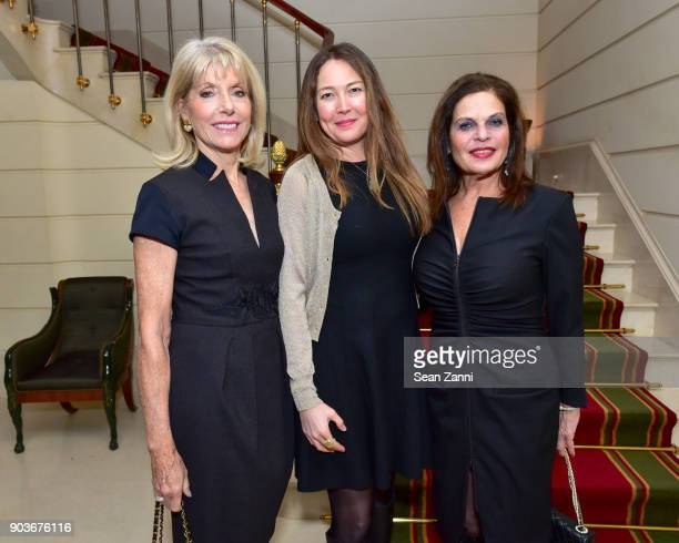 Liz Peek Heidi LeeKomaromi and Sylvia Hemingway attend Friends of Budapest Festival Orchestra Reception Hosted by Susan Gutfreund at Private...