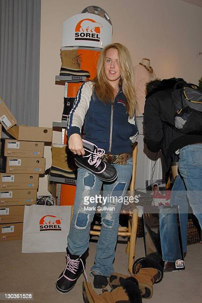 Liz Phair during 2006 Sundance Film Festival Volkswagen Lounge Produced by Backstage Creations Day 3 at VW Lounge Loft in Park City Utah United States