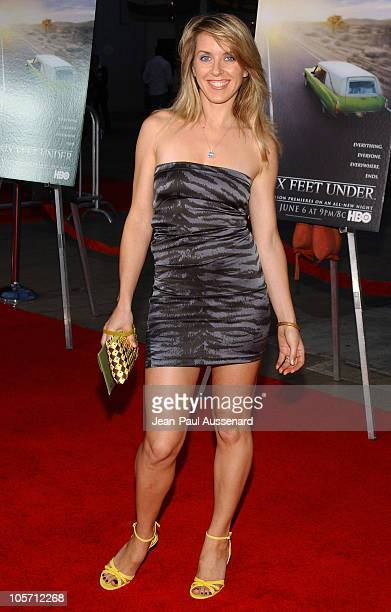 Liz Phair during HBO's Six Feet Under Season 5 Premiere at Chinese Theater in Hollywood California United States