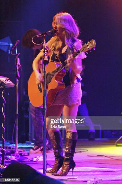 Liz Phair during Liz Phair And Missy Higgins in Concert at the House of Blues in Hollywood November 7 2005 at House of Blues in Los Angeles...