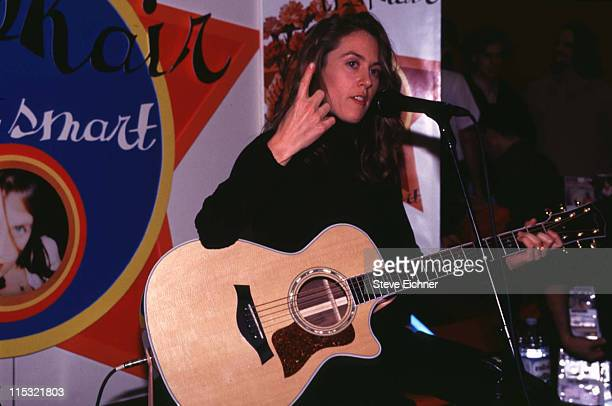 Liz Phair during Liz Phair performing at Tower Records at Tower Records in New York City New York United States
