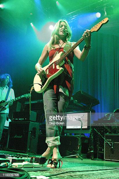 Liz Phair during Maybelline's Chicks With Attitude Tour at House of Blues August 17 2004 at House of Blues in Los Angeles California United States