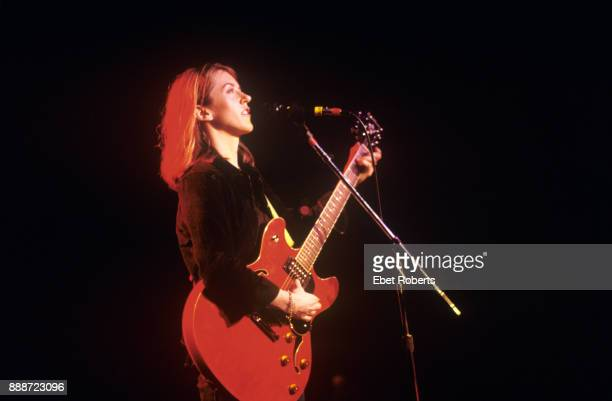Liz Phair performing at Liberty Lunch for the SXSW Music Festival in Austin Texas on March 15 1996