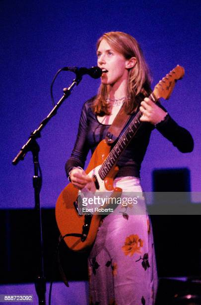 Liz Phair performing at Town Hall in New York City on April 25 1995