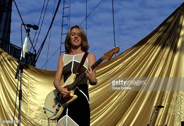 Liz Phair performs at Lillith Fair at Jones Beach, New York, July 16, 1998.