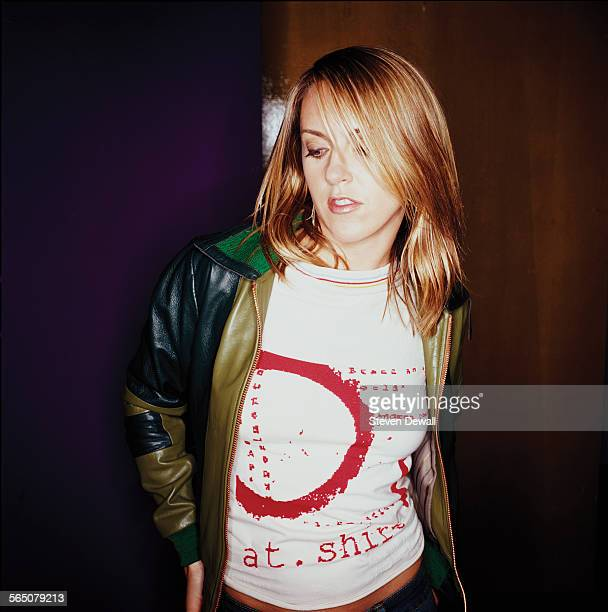 Liz Phair poses for a studio portrait in Los Angeles California United States 10th June 2003