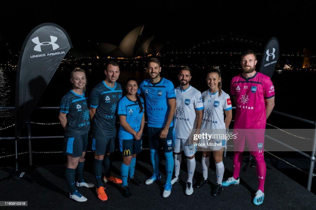 Sydney FC 2019/20 A-League Uniform Launch : News Photo