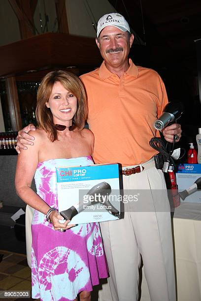 Liz Rhoden and Rick Rhoden attend Backstage Creations at the American Century Golf Tournament on July 15 2009 in Stateline Nevada