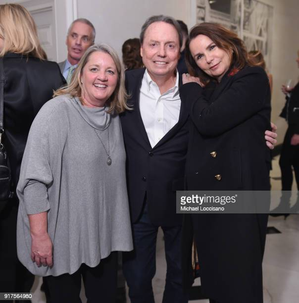 Liz Rose BMI VP Creative Jody Williams and Patty Smyth attend the Country Music Hall Of Fame And Museum Reception With Carly Pearce For All For The...