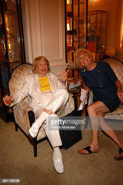 Liz Smith and Iris Love attend Madonna Childrens Book Lotsa de Casha published by Callaway Arts and Entertainment at Bergdorf Goodman on June 7 2005...