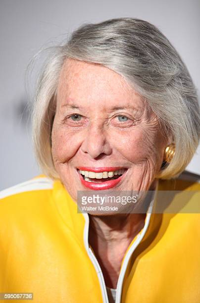 Liz Smith attending the Opening Night Performance of 'The Mountaintop' at the Bernhard B Jacobs Theatre in New York City