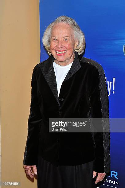 Liz Smith attends 'Matthew Bourne's Swan Lake' gala performance at New York City Center on October 13 2010 in New York City