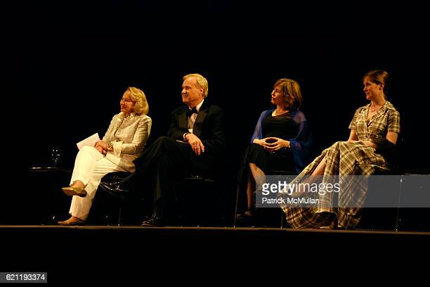 Liz Smith Chris Matthews Azar Nafisi and Ann Patchett attend Literacy Partners Hosts Annual Gala 'An Evening of Readings' Honoring David and Julia...